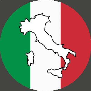 Italian Map Icon