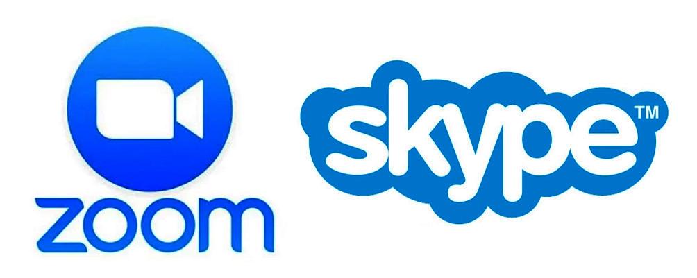 Zoom-Skype
